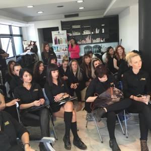Σεμινάριο Ακαδημίας Sede Styling για θεραπείες μαλλιών