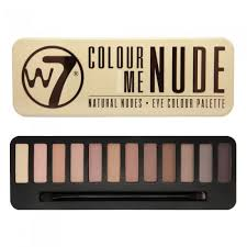 W7 Colour Me Nude Natural Nudes – Eye  Colour Palette