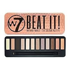 W7 Beat It Natural Nudes – Eye  Colour Palette