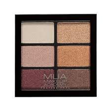 MUA Eyeshadow Pallette Pro 6 shades – Rusted Wonders