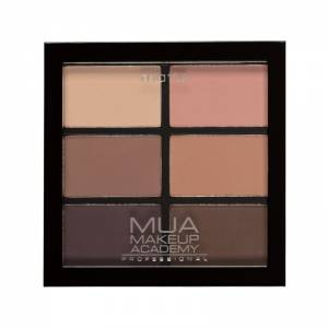 MUA Eyeshadow Pallette Pro 6 Shade Matte – Soft Suedes