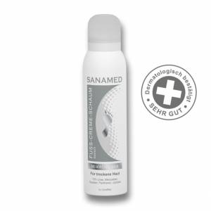 SANAMED Mikrosilber Κρέμα-Αφρός-Ποδιών για ξηρό δέρμα 50 ml