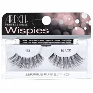 Ardell lashes  Wispies Black 113