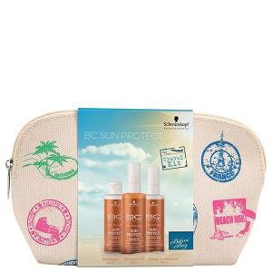 Schwarzkopf Sun Protect Travel Kit 17′ ' (Sh. 100ml + Spray Cond. 100ml + Shimmer Oil 100ml)