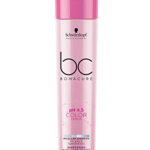 Schwarzkopf BC Color Freeze  Silver Micellar Shampoo (250ml)