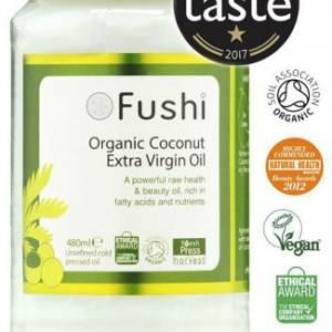 Fushi Organic – Έλαιο Καρύδας, Ψυχρής Έκθλιψης!