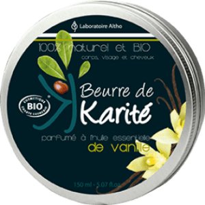 Laboratoire Altho – Βούτυρο Καριτέ με Εκχύλισμα Βανίλιας – Vanilla Infused Shea Butter