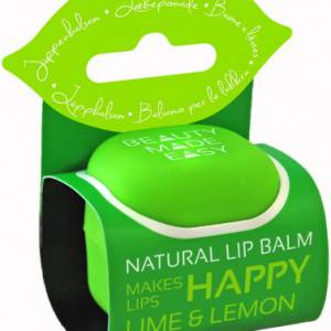 Beauty Made Easy – Βάλσαμο Χειλιών / Lip Balm LIME & LEMON