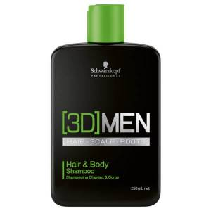 Schwarzkopf New [3D]MEN hair & Body Shampoo 250ml