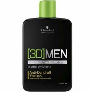 Schwarzkopf New [3D]MEN Anti-Dundruff Shampoo 250ml