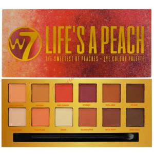W7 Life's a Peach – Eye Colour Palette
