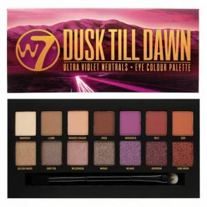 W7 Dush Till Dawn – Eye Colour Palette