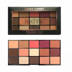 Technic 15 Eyeshadow Palette Sierra Sunset 15×2 30gr