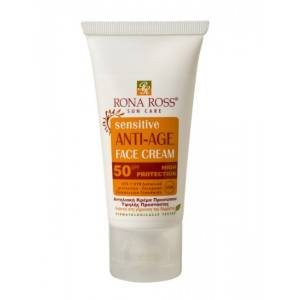 Rona Ross Sensitive Face Cream with SPF 50 – 50ml