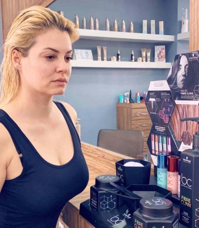 Η Μαρία Κορινθίου επισκέφθηκε τα καταστήματα Sede