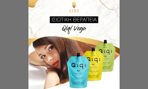 Νέα Ισιωτική Θεραπεία Μαλλιών Qiqi Vega